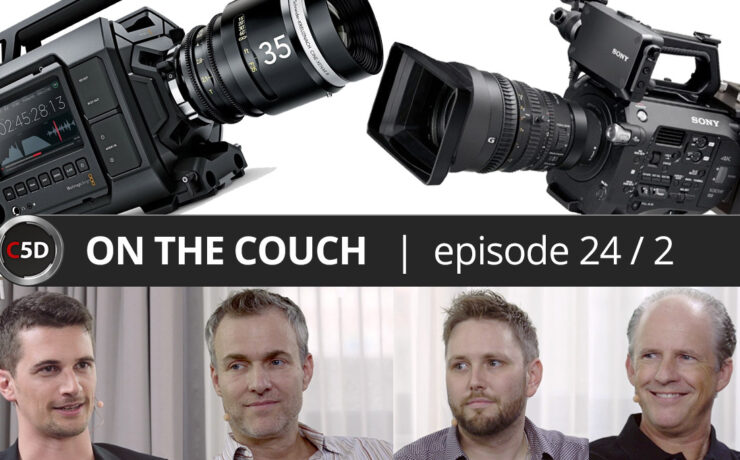 Are Cameras Getting Bigger Again? - ON THE COUCH Ep. 24 part 2 of 2 - Frank Mirbach, Lawrence Richards & Glidecam CEO David Stevens