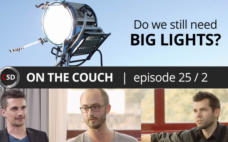 Do We Still Need Big Lights? - ON THE COUCH Ep. 25 part 2 of 3 - O'Connor Hartnett, Mark-André Voss