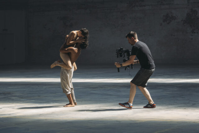Dancing with the dancers, on a MoVi M5 and the Sony A7s with Batis 2/25