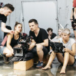 Behind the scenes by Tony Gigov