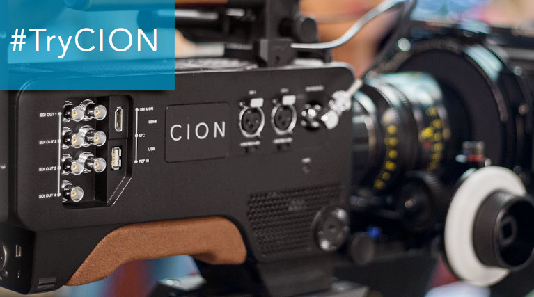 AJA Lets You Try the CION Camera for Free Now