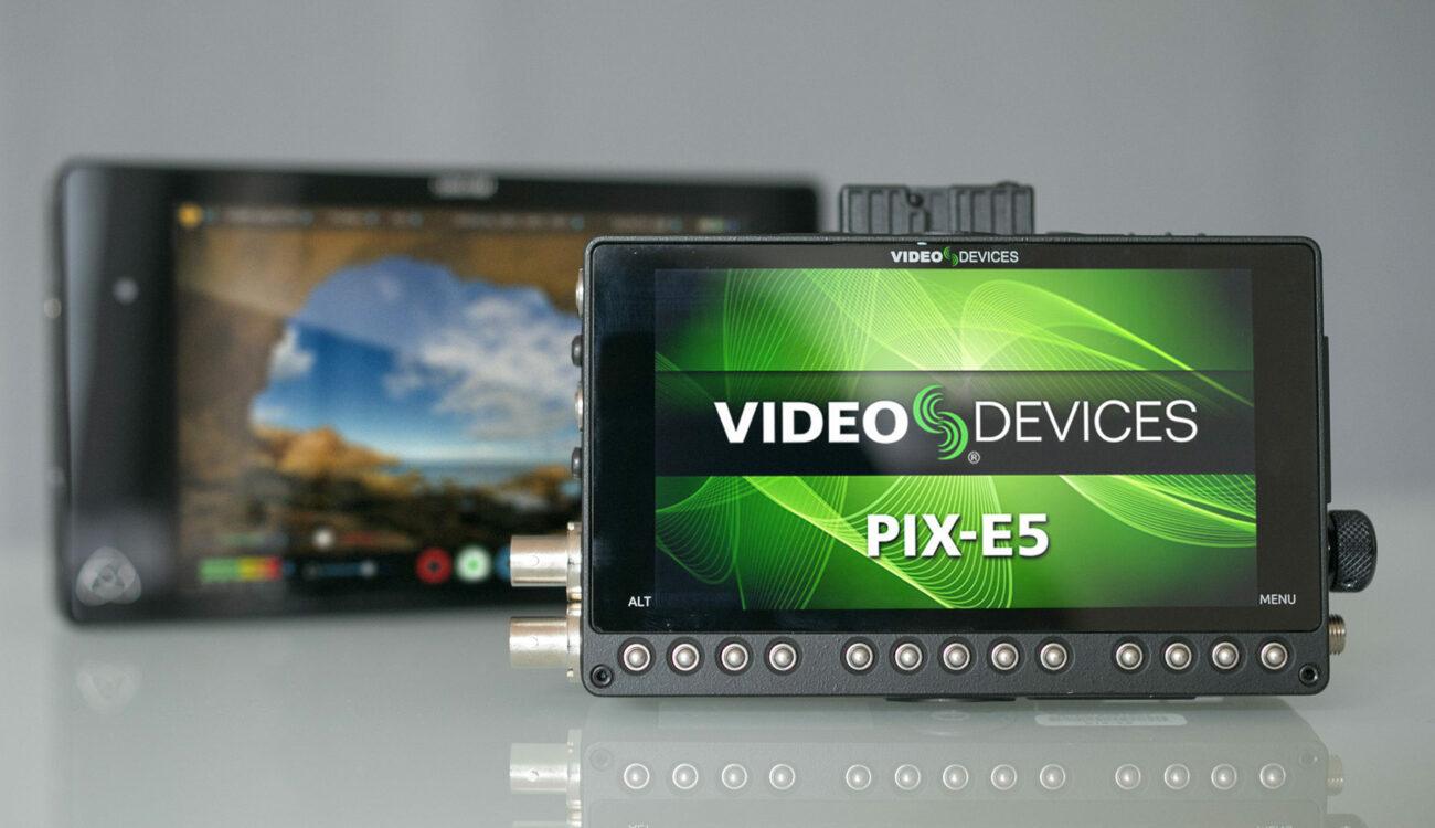 The Best 4K Recorder? Video Devices PIX-E5 vs. Atomos Shogun