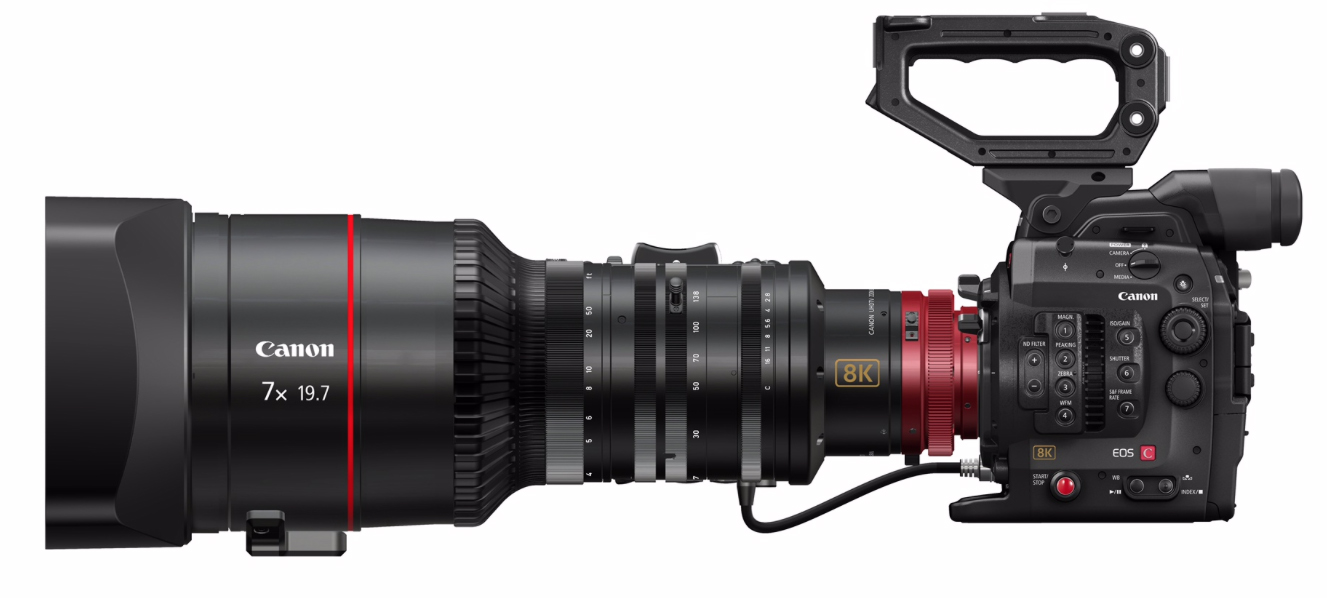 Canon Announce 8K Concept Cinema Camera and 120 Megapixel