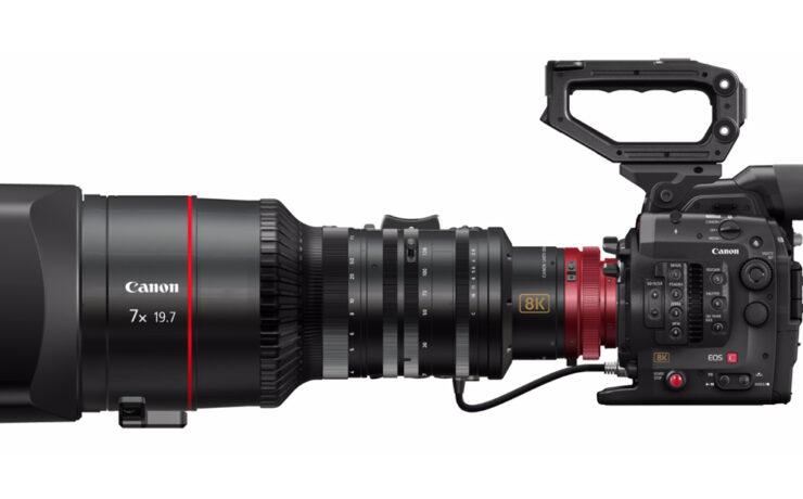 Canon Announce 8K Concept Cinema Camera and 120 Megapixel DSLR
