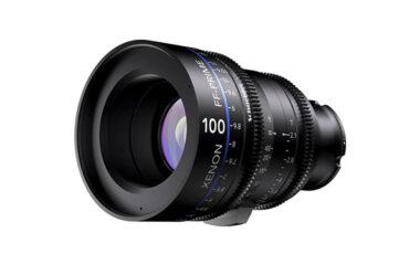 Schneider Announces Full-Frame E-Mount Prime Lenses