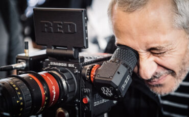 """New RED OLED EVF & Low Profile 4.7"""" Touch LCD Connect Wirelessly"""