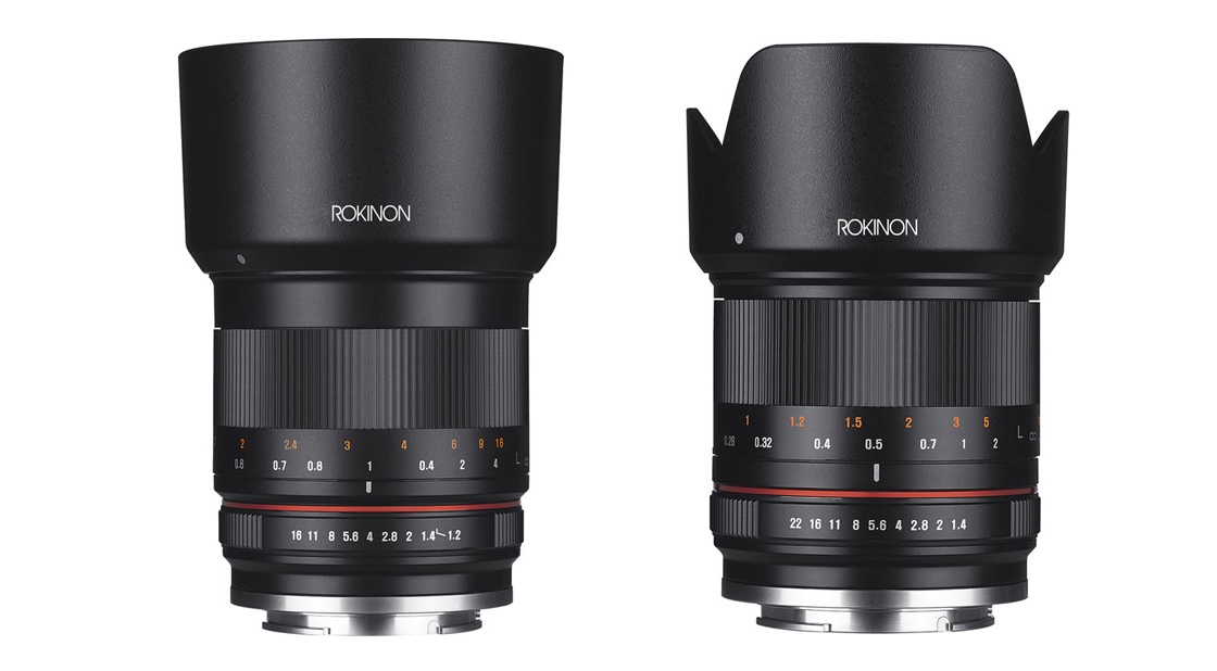 New Rokinon 50mm F/1.2 and 21mm Mirrorless Lenses Announced