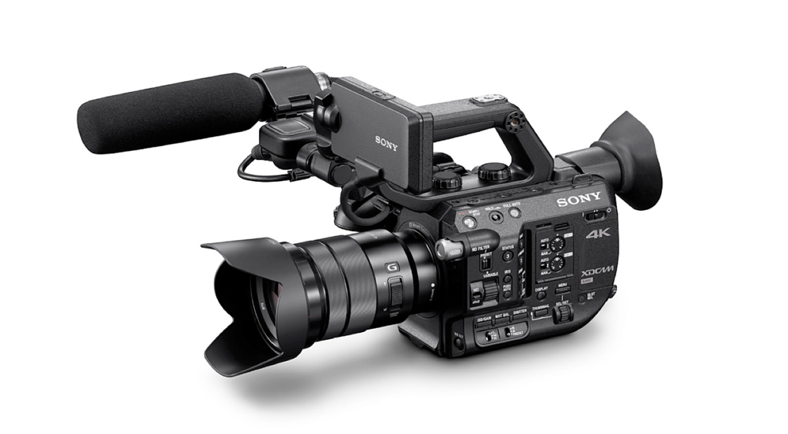Sony announce PXW FS5. Smaller FS camera with S-log 4K 240fps and built in fader ND