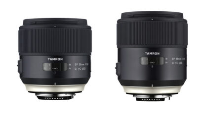 Tamron Announce Two New Feature Rich Premium Primes
