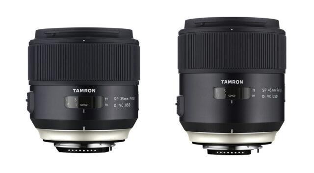 Tamron SP Primes