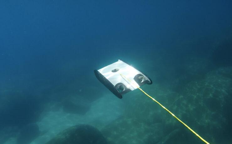 OpenROV Trident - Underwater Drone Appears on Kickstarter