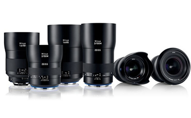 Zeiss Milvus - New Lens Line for Canon and Nikon Mount