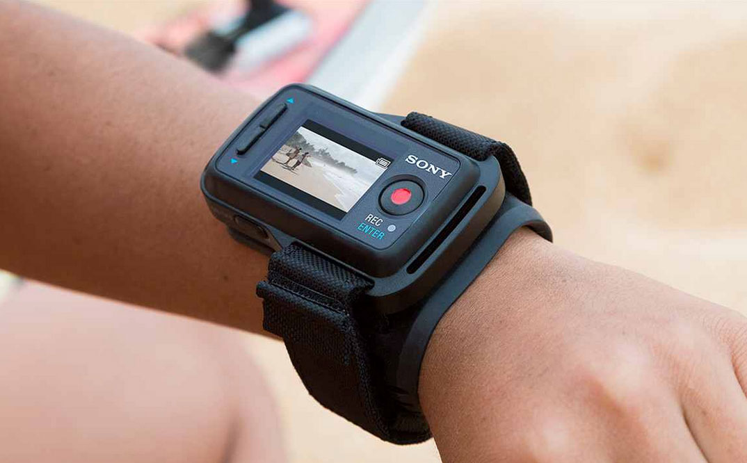 Sony introduces Wrist-Mounted Action Cam Live View Device