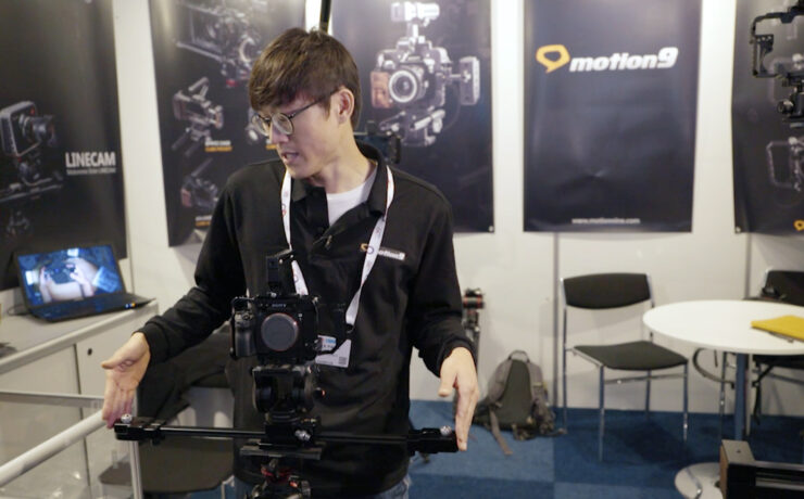 Motionnine Presents a New Compact Slider - Single Linecam