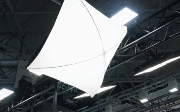 This Lightweight LED Softlight on a Pole Caught Our Eye - FlyBall by DOP Choice