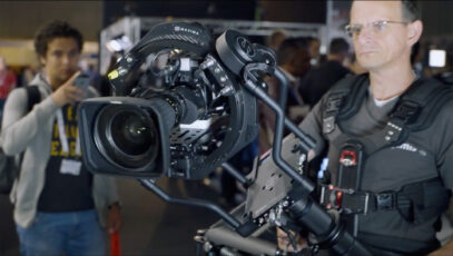The Ultimate Stabilizer? Sachtler Trinity, a Gimbal/Steadicam Combo