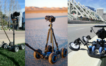 CamTrac - Fully Adaptable Camera Dolly System for Timelapse, Hyperlapse and Video Camera Moves