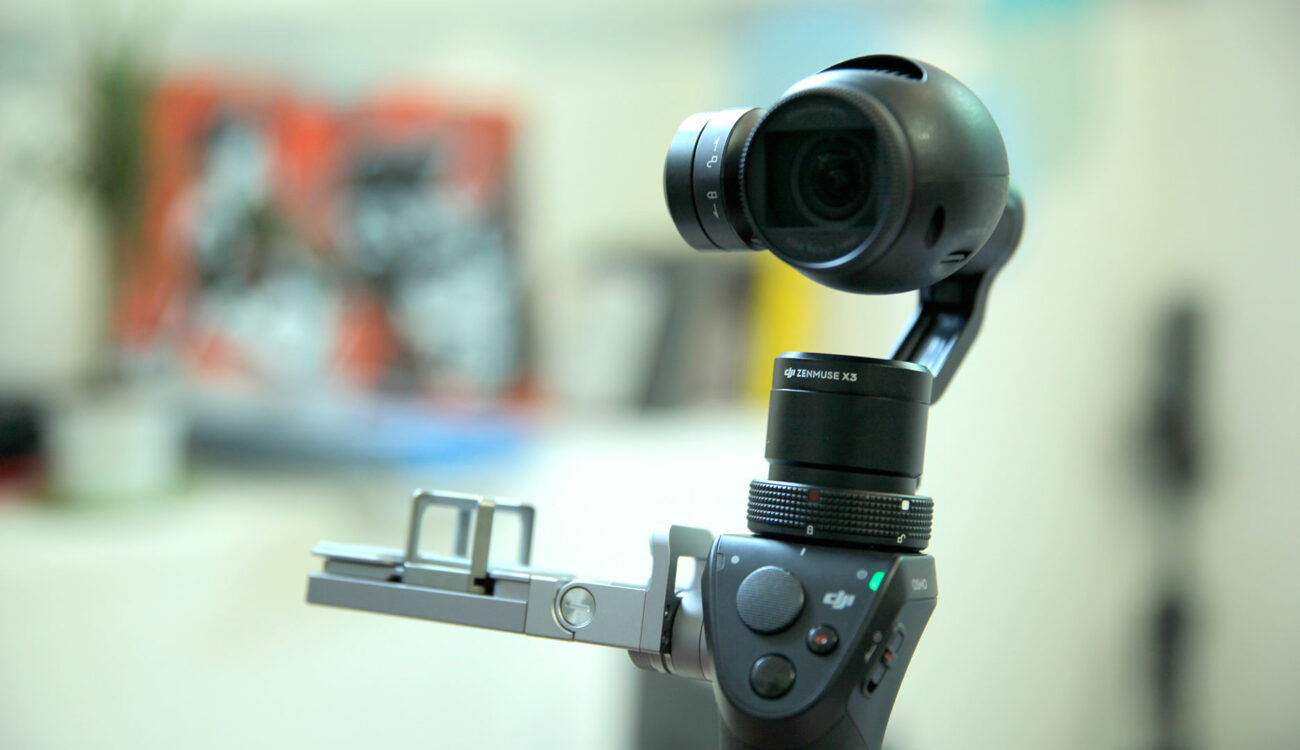 First DJI OSMO Hands-On