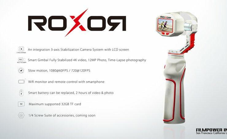 ROXOR Handheld Gimbal Camera - A Sub $200 DJI OSMO Alternative