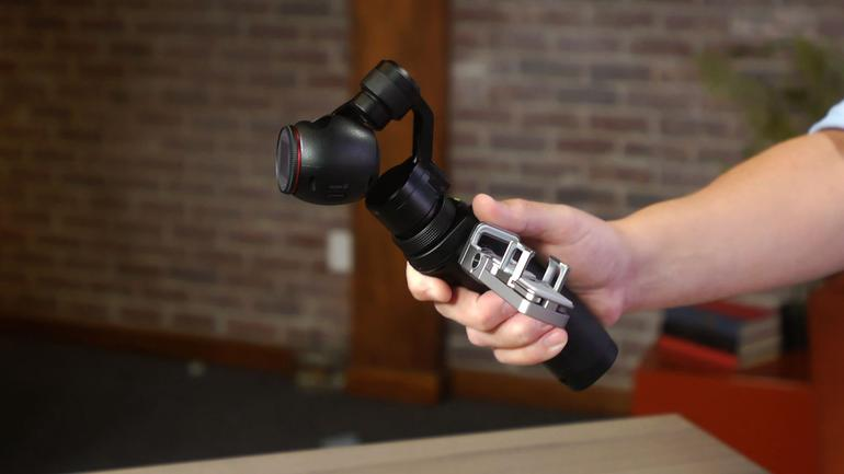 DJI Osmo - Introducing the 3-axis Hand-held Gimbal with an Integrated Camera