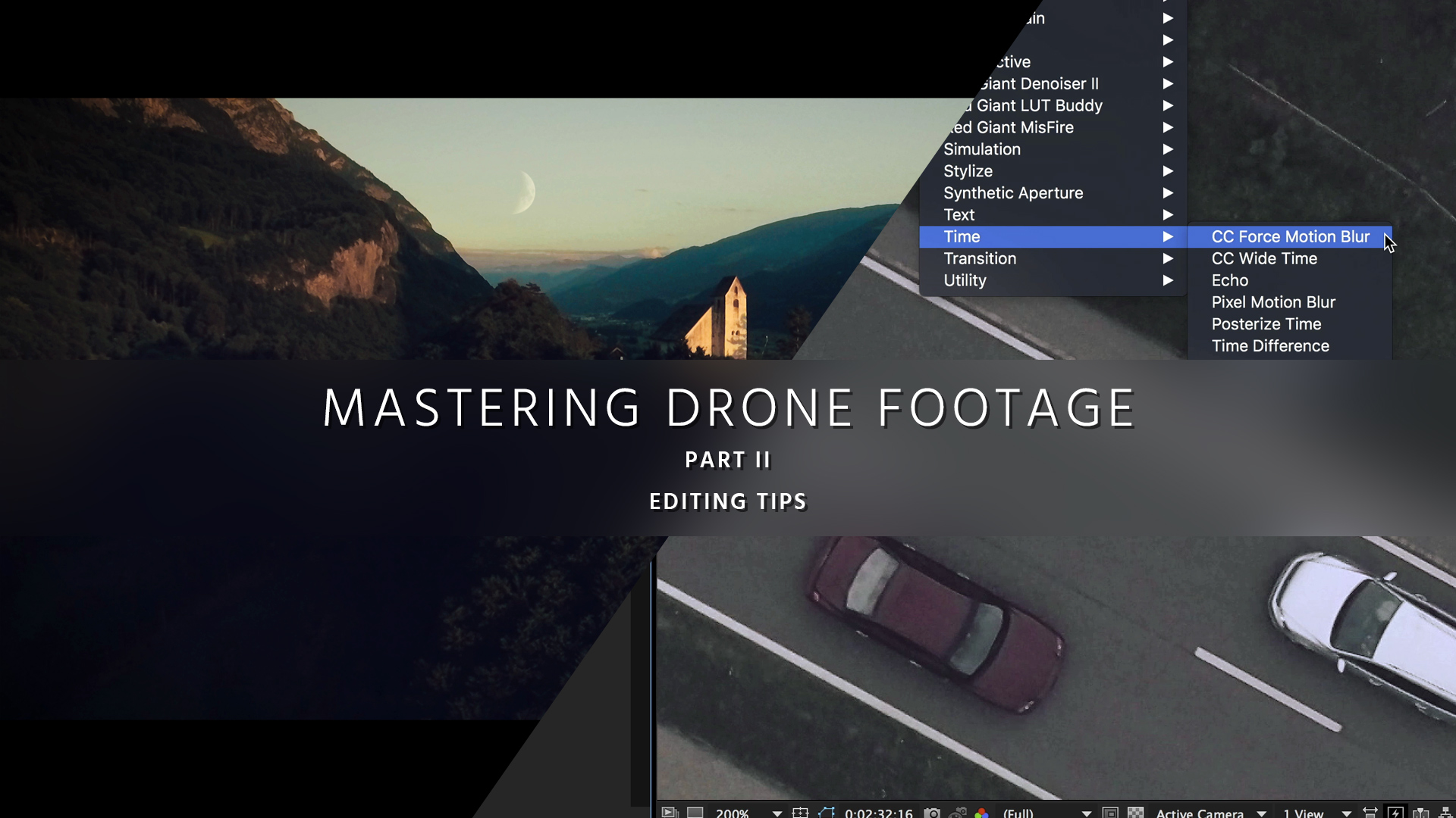 Improve Aerial Video In Post Mastering Drone Footage