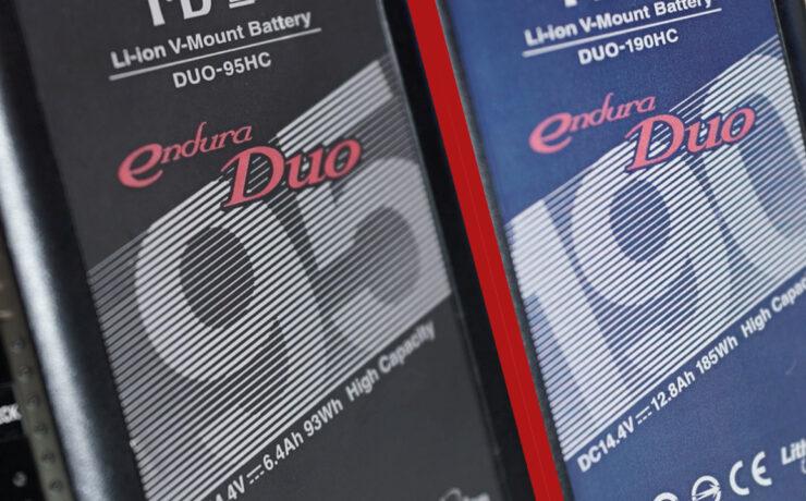The Perfect Slimline V-Lock - IDX Endura Duo Halve In Size