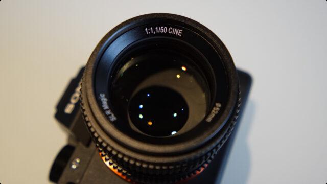SLR Magic 50mm f:1.1