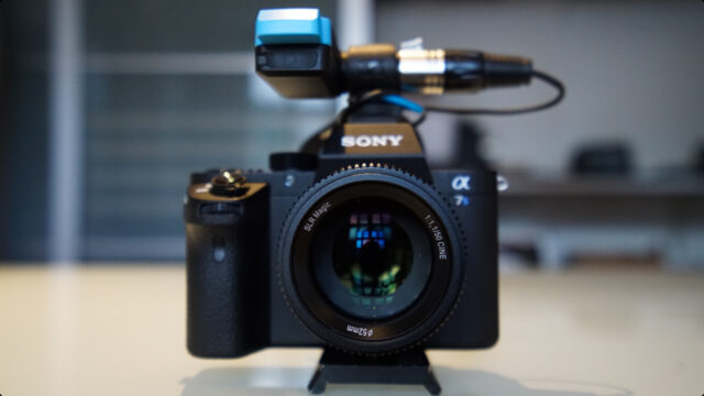 SLR Magic 50mm f1.1 on a Sony a7SII