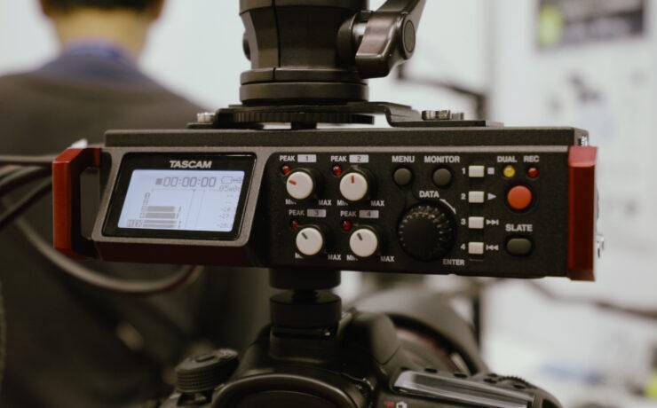 Tascam DR701D - HDMI Triggered Audio Recorder For DSLRs