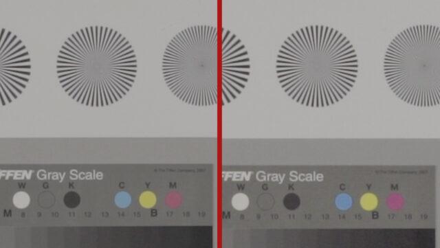 Left: Sony a7S II 1080p Crop mode (1.6x) |Right: Sony a7S 1080p Crop Mode (1.6x)