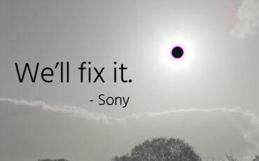 Sony fixing the Sony a7S II Black Sun Bug