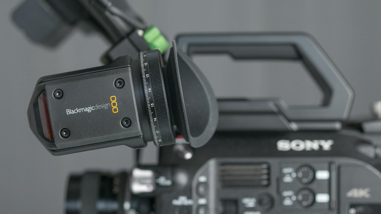 The Blackmagic URSA Viewfinder Doesn't Make Sense on the Sony FS7