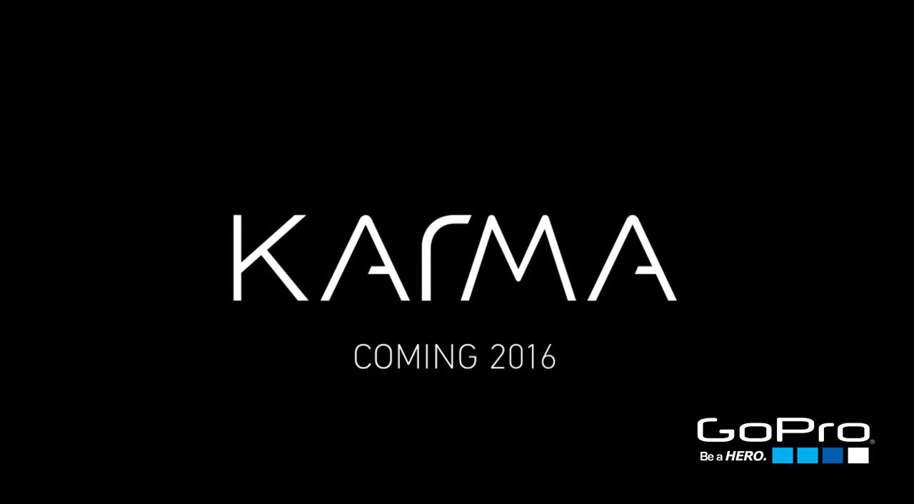 GoPro Drone Karma Holidays 2016