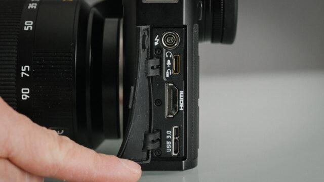 Leica-SL Audio input