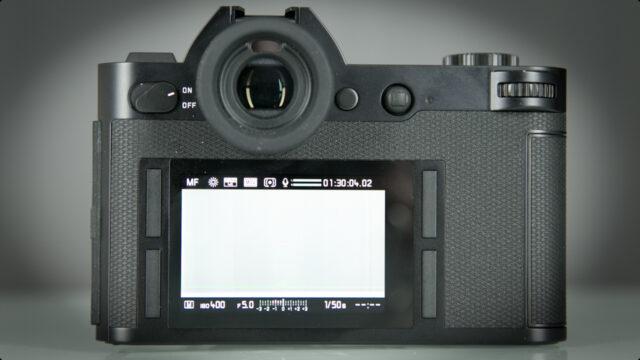 Leica SL-Clean design