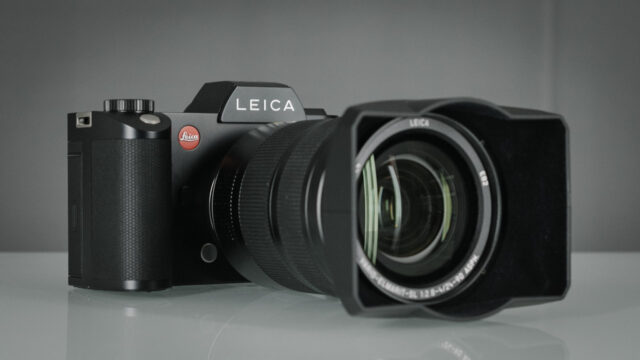 Leica-SL Front look