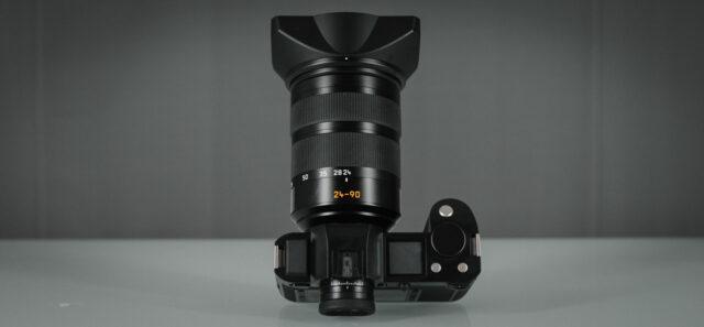 Leica-SL Top look