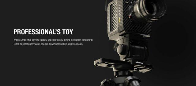 SliderONE_Compact Camera Slider_3