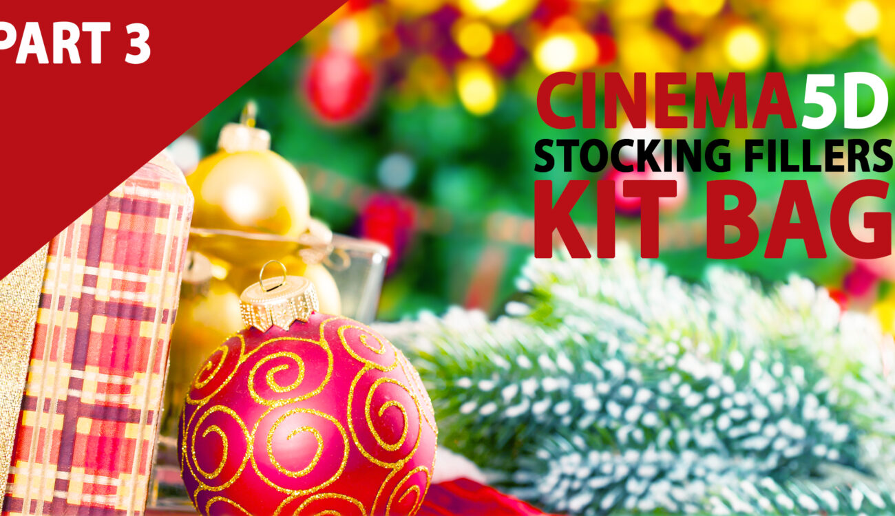 Part 3 - Top 10 Must Have Kit Bag Stocking Fillers Below $100