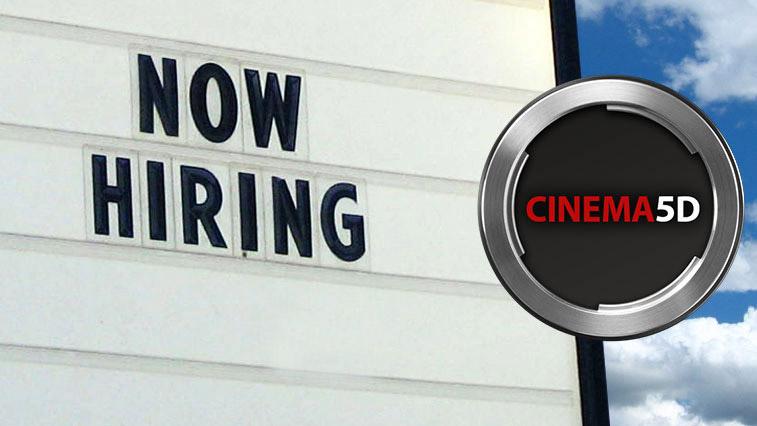 cinema5D Is Hiring Writers