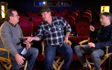 Tarantino's & P.T. Anderson's Christmas Geek Talk:  70mm Film Projection vs. Digital