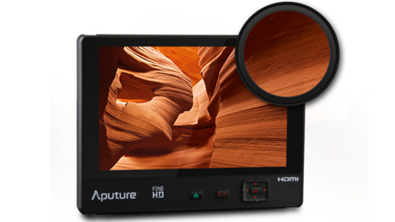 The VS-1 FineHD, one of the Aputure Full HD Monitors