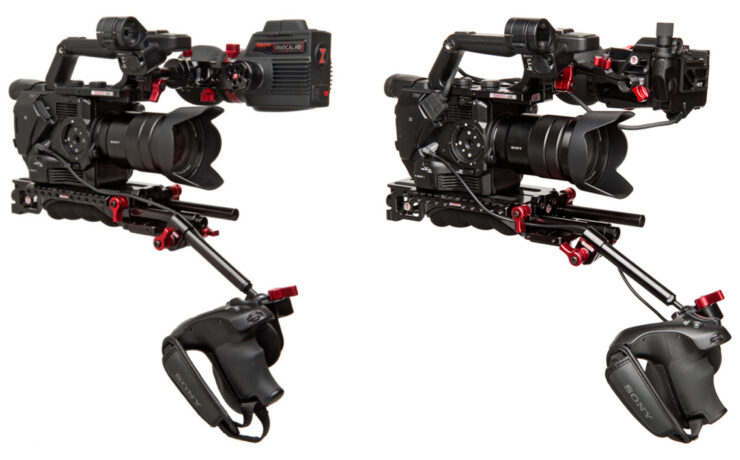 The Perfectly Balanced FS5 Shoulder Rig - Zacuto FS5 Recoil