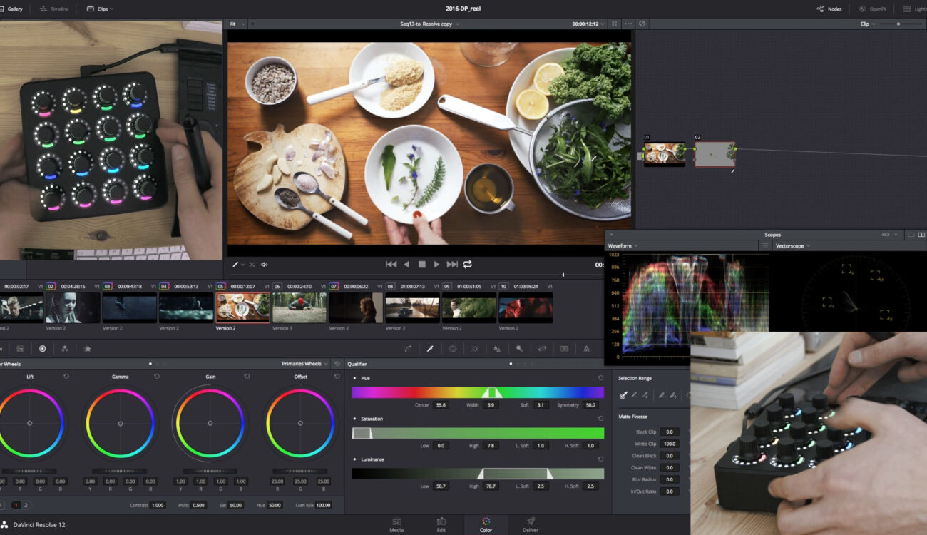 The MIDIGrade Controller for DaVinci Resolve on a Budget