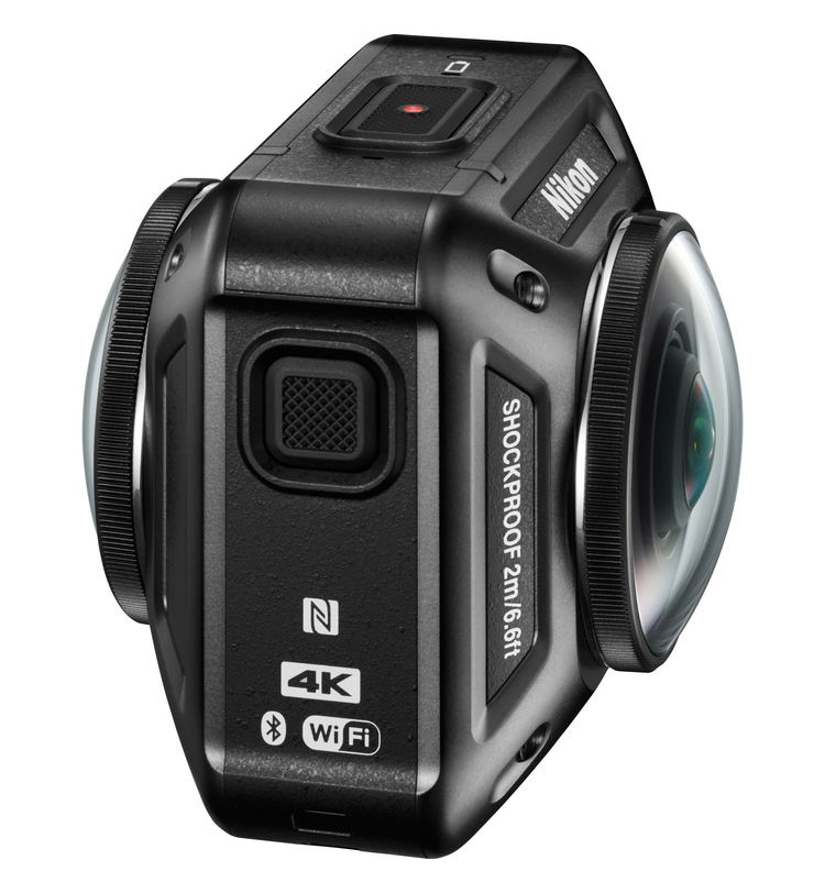 Nikon introduces innovative 360 action camera cinema5d for Housse camescope