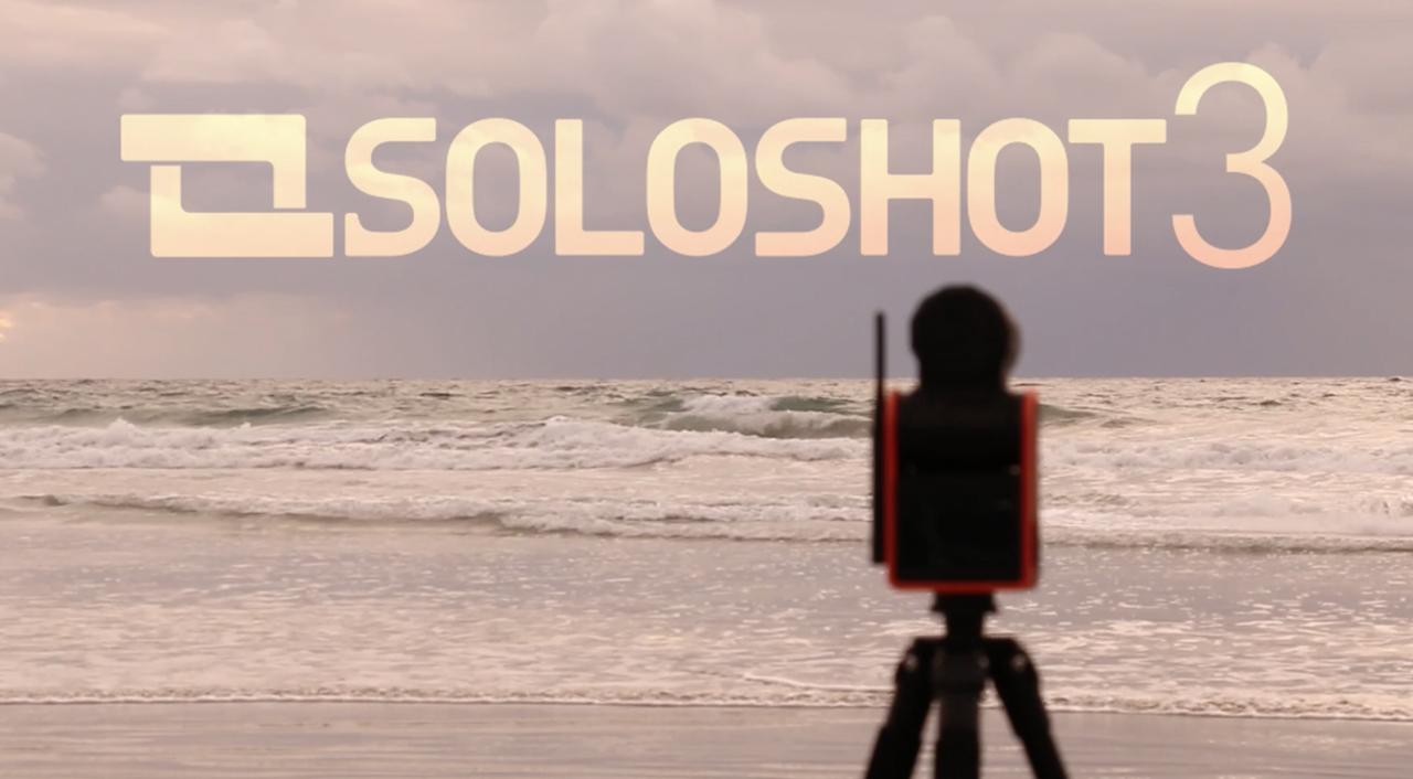 SOLOSHOT3Pro - The Auto Tracking Robot Cameraman