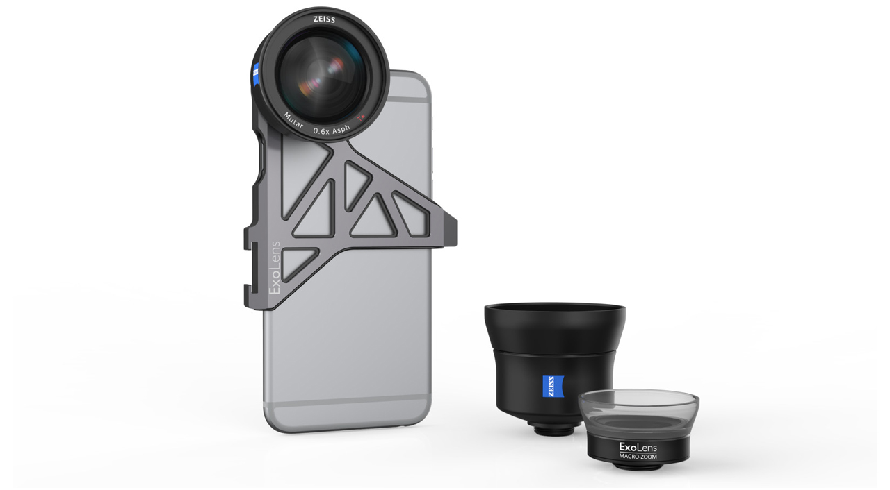 Zeiss & Smartphone Photography Company Fellowes Brands Announce iPhone Lens Trio