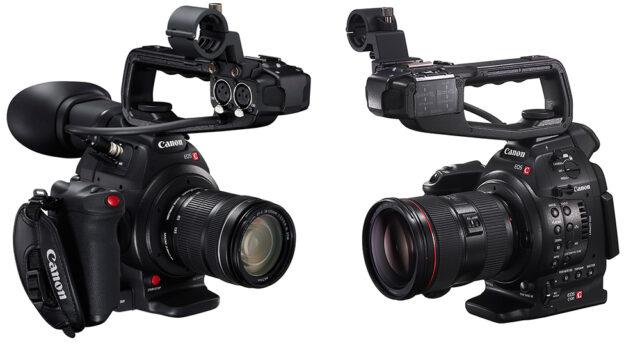 canon C100 and C100 Mark II