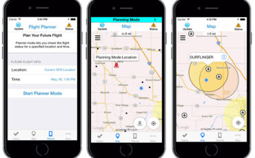 Drone Flight Restriction Apps - FAA's B4UFLY & DJI Geofencing App