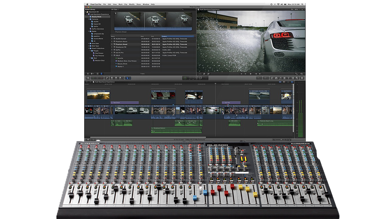 Final Cut Pro X Roles Audio Mixer Possibly on Its Way